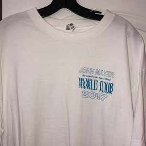 """John Mayer """"The Search For Everything"""" Tour Shirt"""